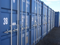 We also provide secure self storage facilities.