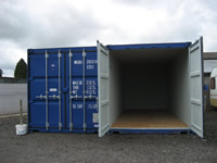 Large capacity containerised storage.