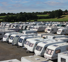 Secure caravan storage in Shropshire